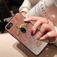 Glitter Shining GUCCI Cover Case for iPhone 6 7 8 PLUS XSMAX XR