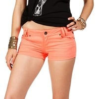 Sale-neon Orange Shorts