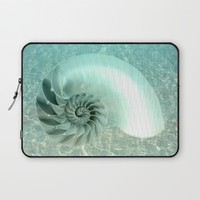 From the Bottom of the Sea Laptop Sleeve by Lena Photo Art