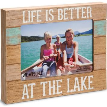 Lake People Picture Photo Frame