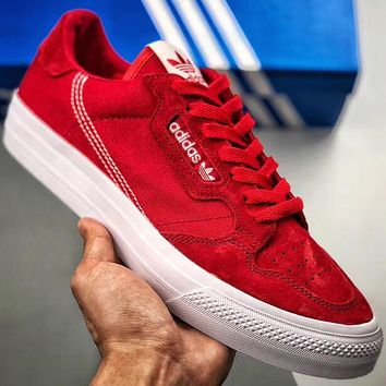 Trendsetter Adidas Continental Vulc Women Men Fashion Casual Old Skool Shoes