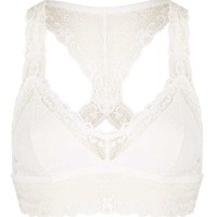 Pretty Lace Crop Top - Lingerie - Clothing