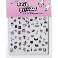 Cute & Sleezy Nail Decals