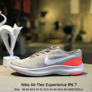 Nike Air Flex Experience RN 7 Free Run Men Gray Sports Running Shoes Sneaker - 908985-003