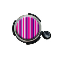 Sweet Pink Stripes Bicycle Handlebar Bike Bell