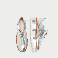 SILVER TRACK SOLE BROGUES DETAILS