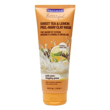 Freeman Feeling Beautiful Peel-Away Clay Mask Sweet Tea & Lemon | Walgreens