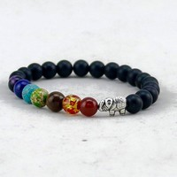 Chakra Elephant Energy Bracelet - Limited Time Offer ( Buy 2 get one FREE )