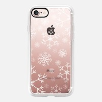 Snow iPhone 7 Capa by Li Zamperini Art | Casetify