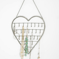 Urban Outfitters - Heart on a String Jewelry Stand