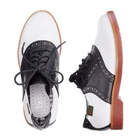 Girls' G.H. Bass® & Company saddle shoes - flats & moccasins - Girl's shoes - J.Crew
