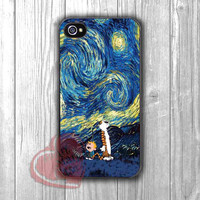 Starry Night Calvin and Hobbes - DiL4 for iPhone 6S case, iPhone 5s case, iPhone 6 case, iPhone 4S, Samsung S6 Edge