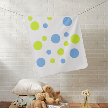Happy Bubbles / Balls Baby Stroller Blanket