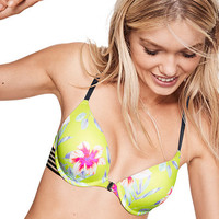 Wear Everywhere Strappy Push-Up Bra - PINK - Victoria's Secret