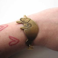 manatee bracelet - sea cow jewelry