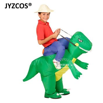 JYZCOS Inflatable Dinosaur Costumes for Kids Girls Boys Unicorn Cowboy Pikachu  T-Rex Fancy Dress Purim Halloween CosplayKawaii Pokemon go  AT_89_9