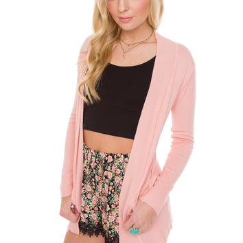 Harper Cardigan - Blush
