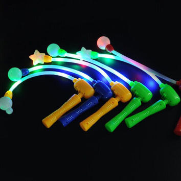 Blinking Flashing Music Wand Light Up Sticks Concerts Prom Party Favors LED Glow
