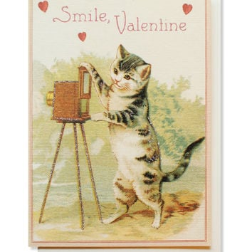 smile valentine card
