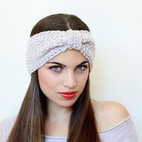Knitted Warmer Headband Great accessory for your outfit