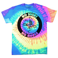 No Problem Tie Dye T-Shirt