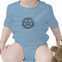 Protected by Witchcraft Pagan Wiccan Baby Creeper