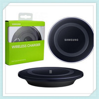 Free Shipping 100% original Charging Pad Wireless Charger EP-PG920I for SAMSUNG Galaxy S6 G9200 S6 Edge G9250 G920f  Hot Sale