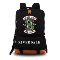 School Backpack Riverdale backpack student school bag Daily backpack student Rucksack Notebook backpack AT_48_3