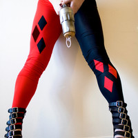 Custom made Harley Quinn leggings
