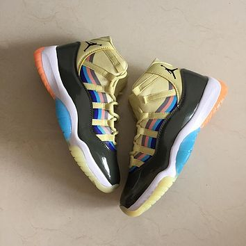 Air Jordan 11 Retro Multi Color Men Sneakers