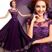 long  evening dresses party 2016 new spring bride dress bridesmaid and slim evening dresses prom dresses mother of the bride dresses [7671212486]