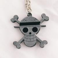 One Piece Strawhat necklace