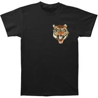 Neck Deep Men's  Tiger T-shirt Black