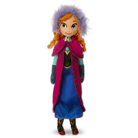 Anna Plush Doll - Mini Bean Bag - 20'' | Disney Store