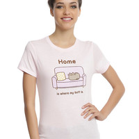Pusheen Home Girls T-Shirt