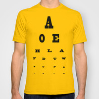 Eye Test T-shirt by liberthine01