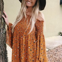Spring Love Dress- Orange