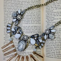 Ancient Ruins Statement Necklace