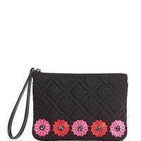 Vera Bradley Celebration Embellished Wristlet - Classic Black
