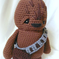 Star Wars Inspired Wookie; CROCHET PATTERN; PDF