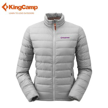KingCamp Womens Winter Outdoor Packable Puffer Jacket and Warm Coats Waterproof Windstoper Skiing Ultralight 90%Duck Down Jacket