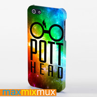 Pott Head Harry Potter iPhone 4/4S, 5/5S, 5C Series Full Wrap Case