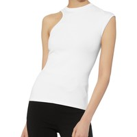 Amata Cutout White Top