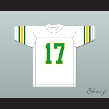 Khalid 17 White Football Jersey