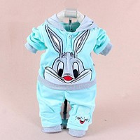 Baby Girls Clothing Sets Spring Newborn Baby Clothes Infant Jumpsuits Toddler Baby Boys Clothes