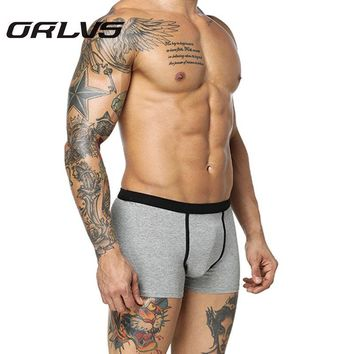 Orlvs Brand Dragon Printed Men Underwear Pants Cueca Sexy Men Boxers Spandex Modal Underpants Boxers Male Pouch Shorts Boxer H2