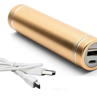 Power Bank 3000mAh Gold