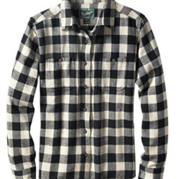 Women's Buffalo Check Flannel Shirt | Woolrich® The Original Outdoor Clothing Company
