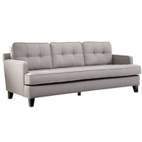 Eden Sofa A Cement Gray Fabric