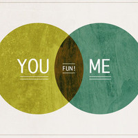 You and Me Art Print by Pixelpop | Society6